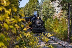 Black Hills Central Railroad 1880s Train