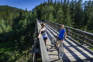 Biking Mickelson Trail
