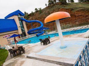 Evans Plunge Hot Springs